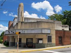 """The old House Theatre in Marion, NC. I remember going to this and seeing Jaws when I was about 15. They closed it as a theatre when a """"modern"""" 2 screen theatre opened up on the 5 lane. Would love to see someone take this over and do something inovative with it."""
