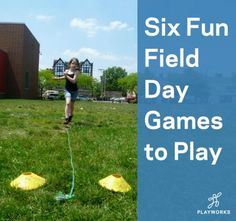 Celebrate the end of the school year with these six fun ideas for a great field day. Field Day Activities, Field Day Games, Camping Activities, Outdoor Activities, Summer Activities, Pe Games, Games For Kids, Games To Play, End Of School Year