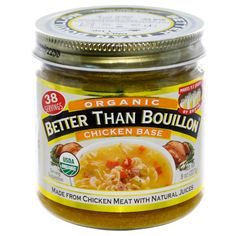 Better Than Bouillon, Organic, Chicken Base, 8 oz (227 g) - iHerb.com