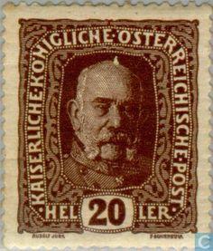 Austria [AUT] - Emperor Franz Joseph and Crown Imperial 1916