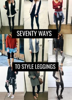 20 more cute casual outfits with leggings ! süße lässige outfits mit leggings cute casual outfits with leggings ! Shoes With Leggings, Leggings Outfit Winter, Leather Leggings Outfit, Cute Outfits With Leggings, How To Wear Leggings, Legging Outfits, Athleisure Outfits, Sporty Outfits, Leggings Fashion
