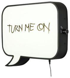 Snakkes Wall light - LED / memo board £162.00