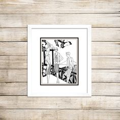 Art Deco print/11 x 14 print/Great Gatsby by PictorialHistory, $40.00