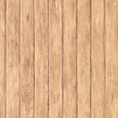 "Welcome Home Trompe L'oeil 33' x 20.5"" Wood Wallpaper"