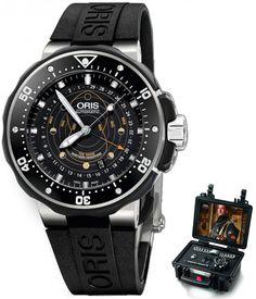 Oris Pro Diver Pointer Moon 76176827154RS+MB