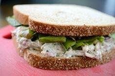 Creamy Dill Chicken Salad Sandwich