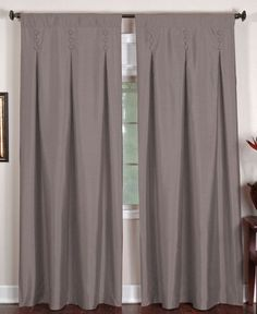 """for the bedroom Elrene Window Treatments, Imperial 26"""" x 95"""" Panel - Curtains & Drapes - for the home - Macy's"""