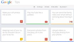 Google launches Google Tips, a site to help you use its 13 consumer products By Emil Protalinski, Friday, 13 Dec '13