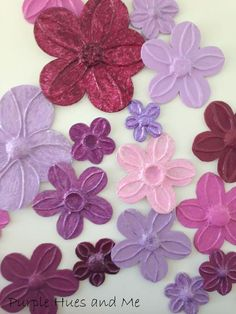 foil flowers wall d cor diy, crafts, home decor, wall decor, I love love love the look and feel this gives the room With pops of my favorite colors added to a stark white wall