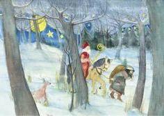 Postkarte Der Nikolaus