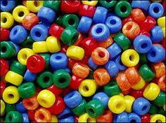 Rainbow Beads - A fun & interesting kids party game where they have to put maximum beads in a thread but the twist is that they have to be in rainbow color order.