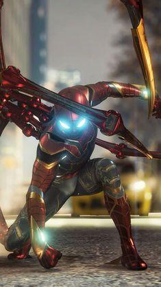 Marvel Comics, Marvel Comic Universe, Marvel Art, Marvel Heroes, Marvel Avengers, Spiderman Art, Amazing Spiderman, Best Marvel Characters, Iron Spider Suit