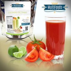 ¿Alguna vez haz hecho un jugo de tomate? Aquí te traigo este riquísimo #licuado con #SalvadodeTrigo Multifoods: Ingredientes para preparar Licuado de Tomates. 3 tomates maduros.  2 cucharadas de azúcar.  2 cucharadas de jugo de limón.  1 cucharada de Salvado de Trigo #Multifoods Agua fría al gusto. Cómo Preparar Licuado de Tomates. Pasar por agua hirviendo los tomates maduros, extraerles las semillas y pasar por licuadora, junto con el azúcar,...