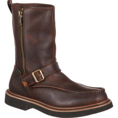 Wedge Work Boots, Georgia Boots, Doc Martens Boots, Wellington Boot, Goodyear Welt, Duck Boots, Men S Shoes, Leather Boots, Riding Boots