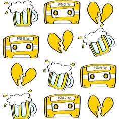 "43 Me gusta, 1 comentarios - Luiza de Souza (@ilustralu) en Instagram: ""chora_coração.bandido #doodle #ilustralu"""