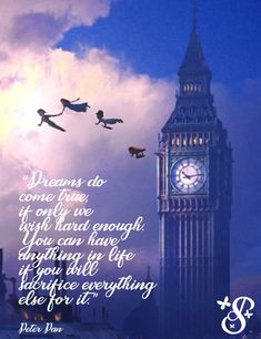 Dreams Do Come True, Big Ben, Everything, Wish, Writing, Words, Quotes, Travel, Trips