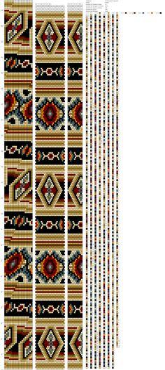 Crochet Bracelet Pattern, Crochet Beaded Bracelets, Bead Crochet Patterns, Bead Crochet Rope, Bead Loom Bracelets, Peyote Patterns, Beading Patterns, Beaded Crochet, Beaded Jewelry Designs