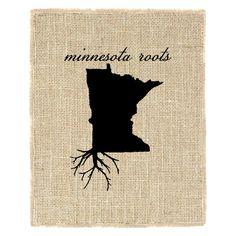 Fiber & Water 'Minnesota Roots' Graphic Art