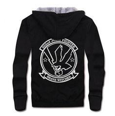 Brave Witches sweatshirt for teenage black zip up hoody thick fleece Hoody, Zip Hoodie, Brave Witches, Black Hooded Sweatshirt, Teenage Guys, Wings Design, Black Zip Ups, Online Sales, Cotton Fabric