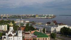 Города России. Нижний Новгород. Архивное фото