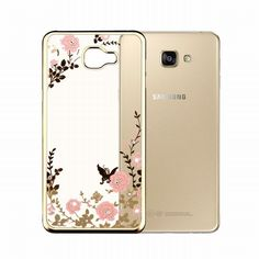 Find More Phone Bags & Cases Information about For Galaxy A3 2016 Case Secret Garden Butterfly Soft TPU Plating Bling Glitter Transparent Back Cover for Samsung Galaxy A3 A310,High Quality a310,China a3 plastic Suppliers, Cheap a3 multifunction from Geek on Aliexpress.com