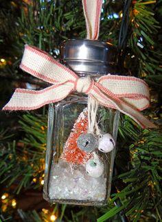Stampy McStamperson: salt shaker ornaments