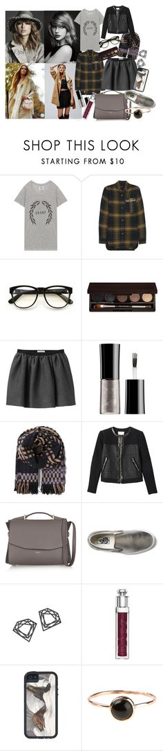 """""""You are what you do, not what you say you'll do!"""" by brownish ❤ liked on Polyvore featuring Zoe Karssen, Isabel Marant, Wildfox, Laura Mercier, Opening Ceremony, Giorgio Armani, Humanoid, Rebecca Taylor, Nina Ricci and Vans"""