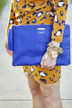 3.1 Philip Lim For Target (at Darling!) + blue clutch