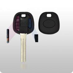 Lexus Transponder Key SHELL - TOY50 Style
