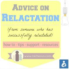 Advice on Relactation from Racheous