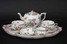 Herend Victoria tea-set