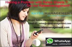 Ratesmanagement System is an easy process for VoIP Rate Sheet Management Rates management system in 3 simple steps: 1) Upload Rate sheets. 2) Download Normalized data 3) Download switch formats. RMS T....