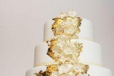 Hochzeitstorte mit leichter Vanillecreme