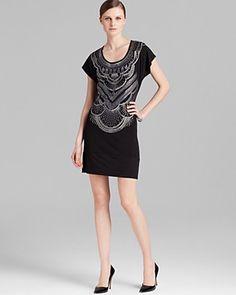 Bloomingdale's Grayse Art Deco Dress $345