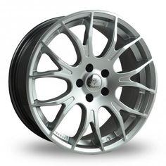 DIAMOND KAISER SILVER alloy wheels at http://www.turrifftyres.co.uk/alloywheels…