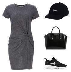 """""""Untitled #403"""" by outfits-by-jahan on Polyvore featuring Audrey 3+1, NIKE and Givenchy"""