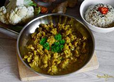 Květákové kari s rýží Curry, Ethnic Recipes, Food, Curries, Meals, Yemek, Eten