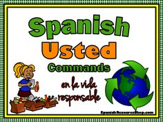 Spanish Formal Commands Practice EN LA VIDA RESPONSABLE from Spanish the easy way! on TeachersNotebook.com -  (13 pages)  - Need more practice with the Spanish formal positive and negative commands? This powerpoint includes 24 positive and 24 negative commands all surrounding the theme of being environmentally responsible.