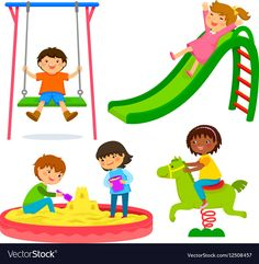 Find Set Kids Playing Playground stock images in HD and millions of other royalty-free stock photos, illustrations and vectors in the Shutterstock collection. Doodle Patterns, Kids Patterns, Kids Vector, Vector Free, Yoga For Kids, Art For Kids, Train Vector, Dance Vector, Sleeping Boy