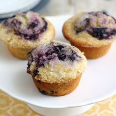 "COOK'S ILLUSTRATED ""BEST"" Blueberry Muffins with a Lemon-Sugar Topping- so you Know they are DELICIOUS!"