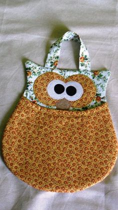 Owl Sewing Patterns, Sewing Paterns, Sewing Art, Bag Patterns To Sew, Sewing Crafts, Sewing Projects For Beginners, Sewing Tutorials, Sewing Pockets, Clothespin Bag