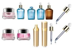 Más de 140 vectores con productos de belleza y cosméticos – Puerto Pixel | Recursos de Diseño