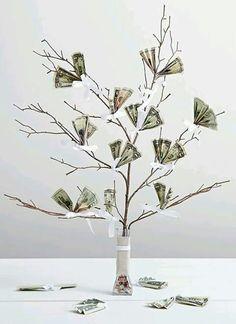 Geld trouw kado