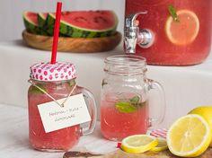 Melonen-Minz-Limonade