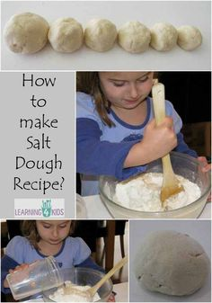 Super easy salt dough recipe!! Salt Dough is a wonderful product that is used to create crafts, sculptures and ornaments. It is a simple recipe and can be
