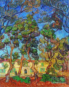 Van Gogh: Hospital, 1889 Photograph  - Van Gogh: Hospital, 1889 Fine Art Print
