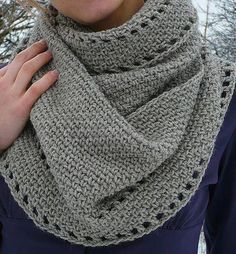 Crocheting: Calm Cowl- will someone please  make this for me??
