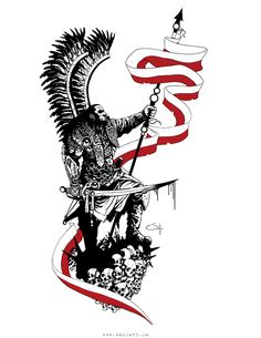 Hussar Tattoo by MackSztaba on DeviantArt