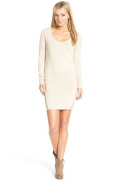 BP. Zip Detail Sweater Dress | Nordstrom