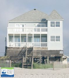 House Call is a Garden City Beach Ocean Front (South) Beach Home rental with 5 bedrooms and accommodates 14 guests. Reserve House Call from Dunes Realty Vacation Rentals today! Myrtle Beach Vacation Rentals, Vacation Home Rentals, House Rentals, Garden City Beach, Beach Gardens, Surfside Beach, South Beach, Beach Trip, Beach House